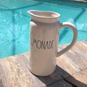 Rae Dunn Lemonade Glass pitcher. NWOT.